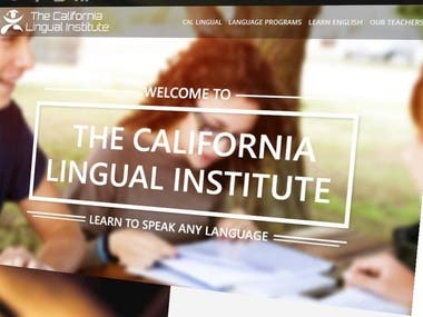 THE CALIFORNIA LINGUAL INSTITUTE