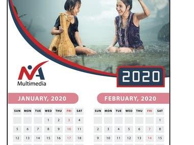 2020 Calendar Design