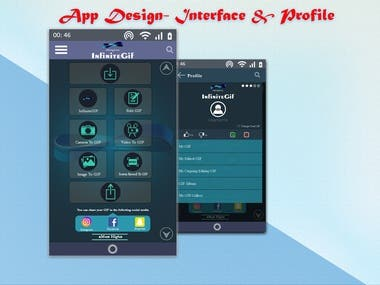 UI/UX design for Android Apps