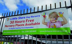 Nursery Places Available banner | Nursery | School Banners