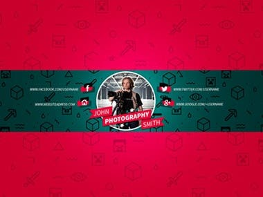 You tube Channel art banner