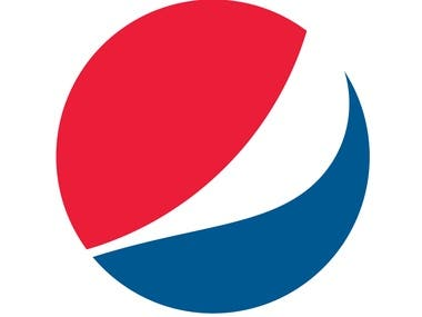 Pepsi logo design