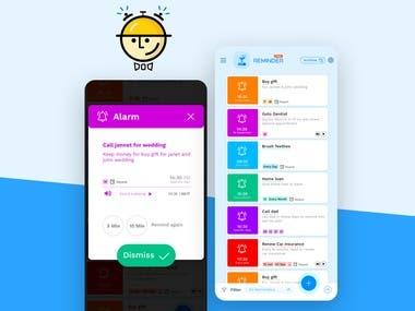 Lifelong Task Reminder Mobile App