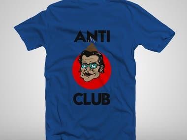 T-shirt designs and mocks