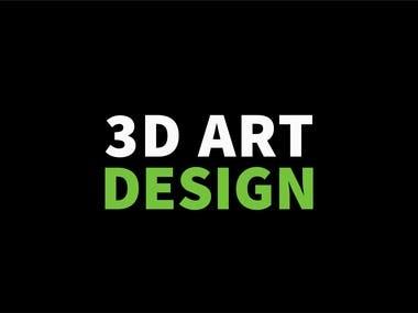 3D Models design portfolio