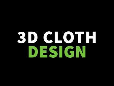 3D Cloth Design Portfolio