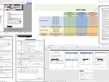 Sample of documentation and Data Entry