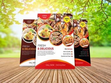 Creative Food Flyer Design