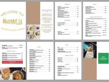 Restaurant menu (click to see more)