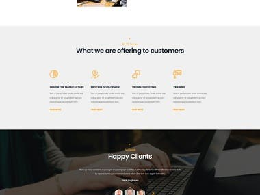 Alpha Consulting Company website