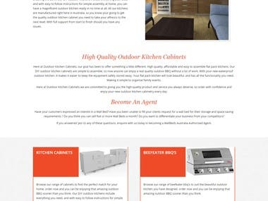 Ecommerce Store Kitchen cabinets