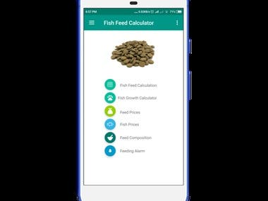 Fish Feed Calculator