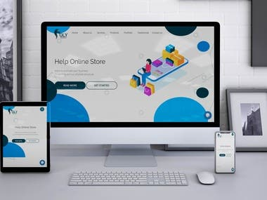 Laravel CMS Base Website