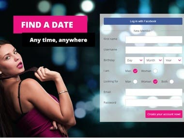 Dating Site and Mobile App