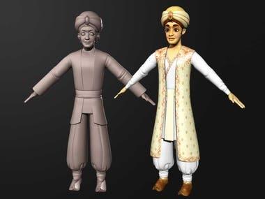 3D Character Modeling/Design