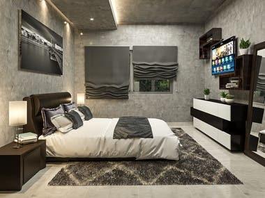 Interior design for Minimalist house