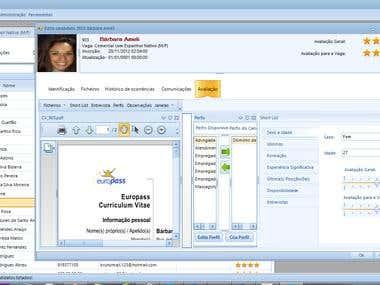 Windows desktop recruitement system