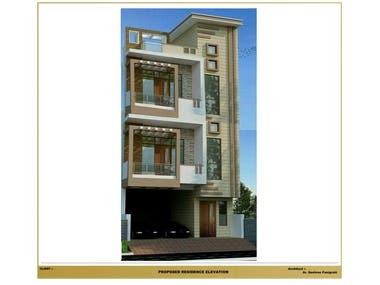 3D Modelling of G+2 Residential House