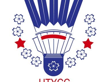 UTYCC University Batminton Club Logo