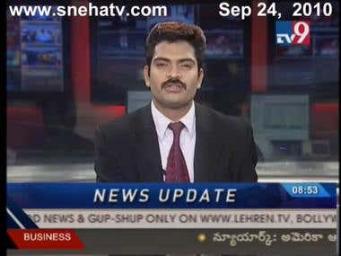 ROBO Ganesh --Human Interactive Robo covered in news channel