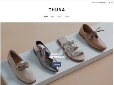 shopthuna Shopify store