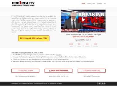 Classic Listing Website