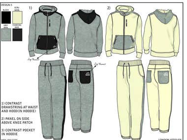 Men's Hoodies and Jogger sets