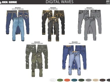 Men's Denim Collection