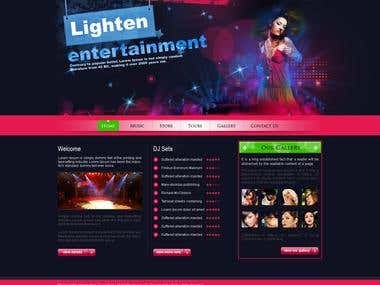 Design and application for Night club