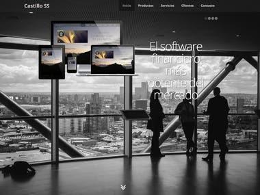 Client Management Website