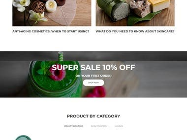 Wordpress Ecommerce by Woocommerce