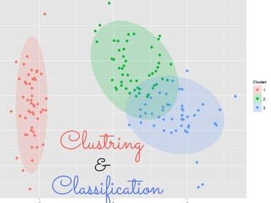 Clustring - Classification (Kmeans- Knn)
