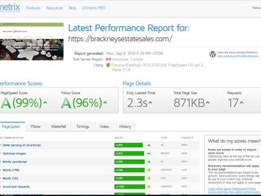 WordPress Website advance Speed Optimization