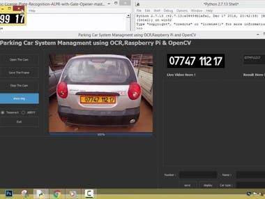 Car Plate Recognize Windows Application