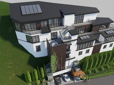 Westover Project- 3D modeling and rendering
