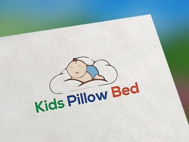 Logo For Kids Pillow Bed
