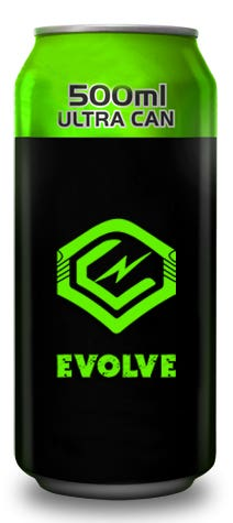 Logo Evolve Energy Drink