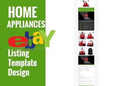 Custom eBay Template Design