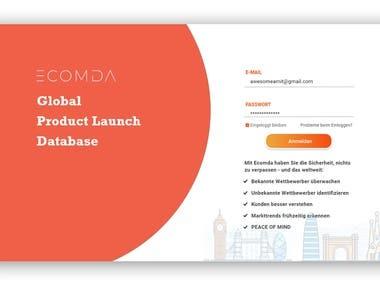 UI Design for CODMA