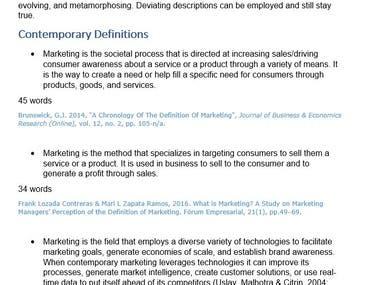 Marketing is...