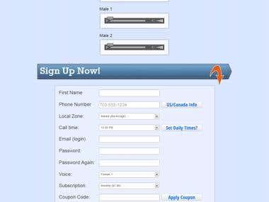 Website Design from Scratch
