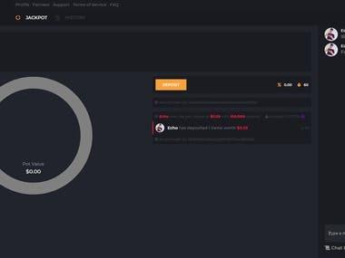 IRLWheel - A nice Jackpot website