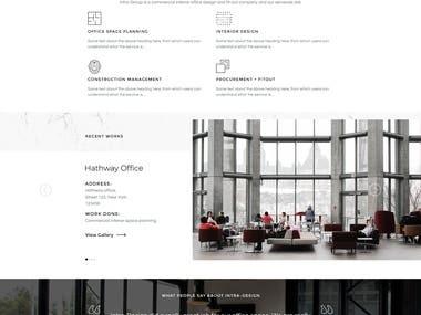 Intra Design UI/UX