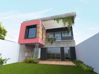 Architectural Design + Render