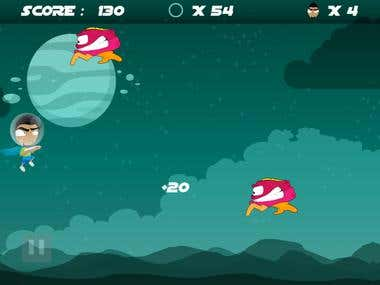 Shorty VS Aliens iPhone/iPad HD Game (www.chikyapps.com)