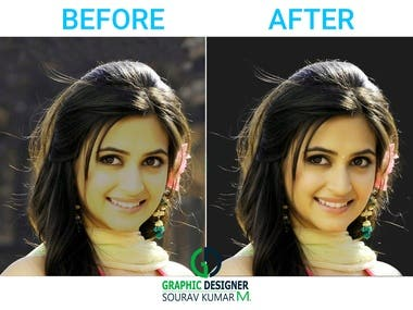 IMAGE RETOUCHING & BACKGROUND CHANGE