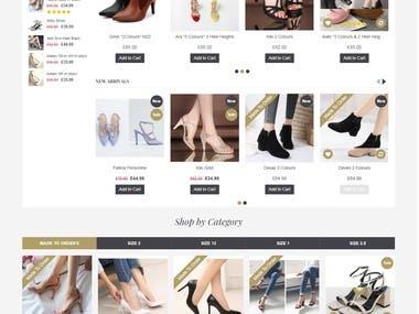 Smallfeet.co.uk - eCommerce Store