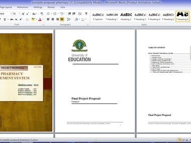 creating Software proposal