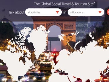 WordPress Development : Top Tourist