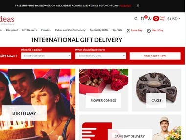 Gift Shop website